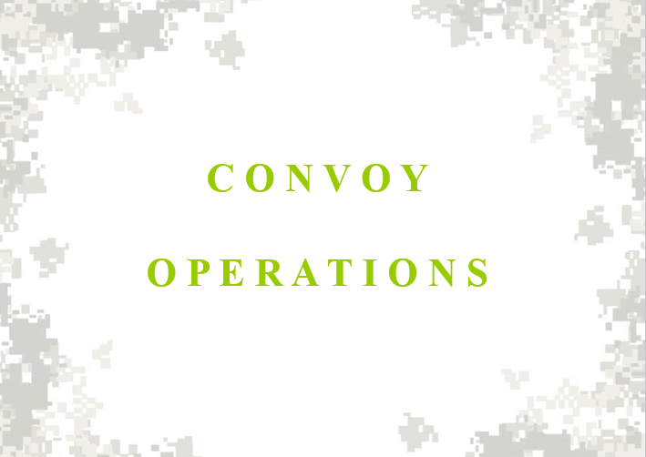 Convoy Operations Class