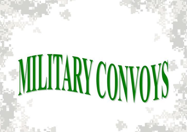 Military Convoys Class