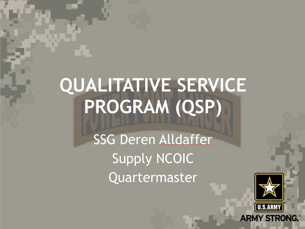Qualitative Management Program
