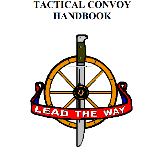 Tactical Convoy HandBook
