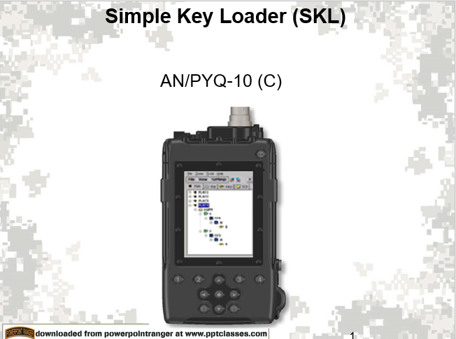 ANPYQ10 Simple Key Loader (SKL)