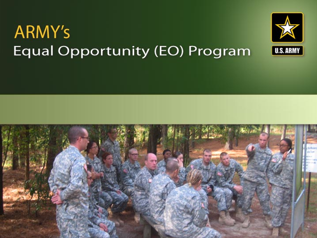 Army Equal Opportunity