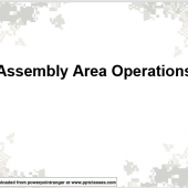 Assembly Area Operations