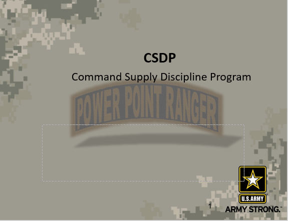 CSDP, Field Issues