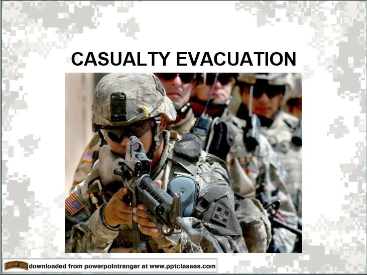 Casualty Evacuation Version II