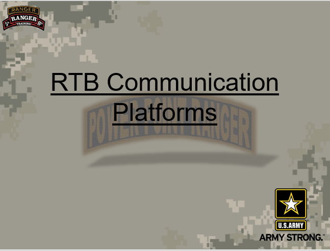 Commo Platforms In The RTB