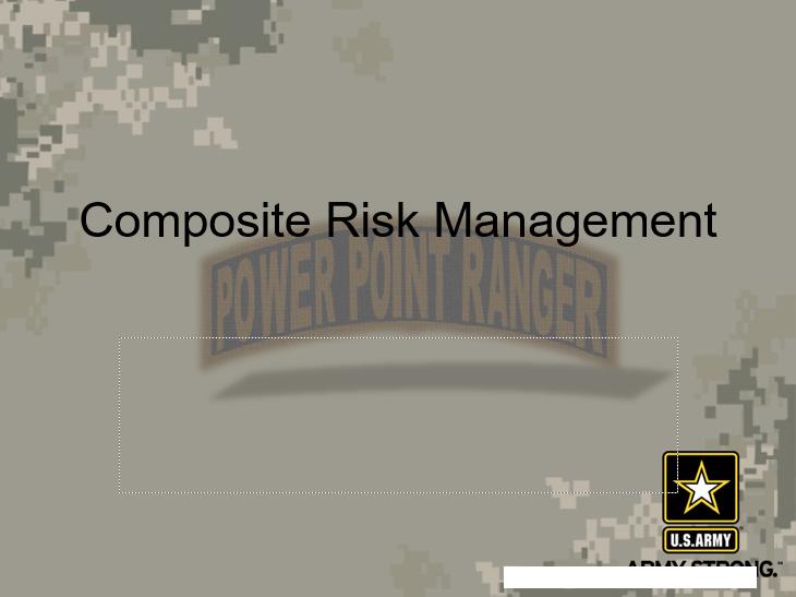 Composite Risk Management