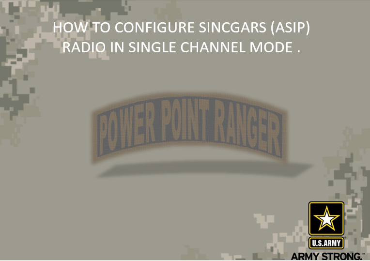 Configure The ASIP