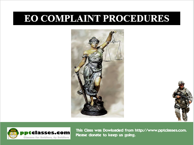 EO Complaint Procedures SHARP