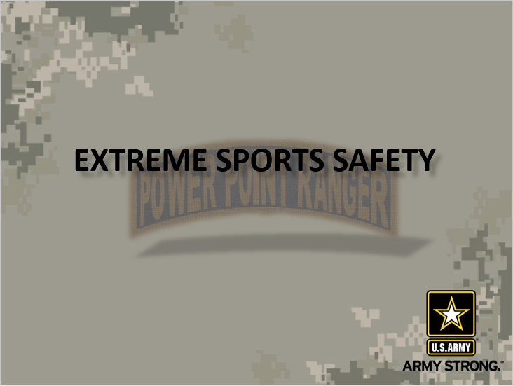 Extreme Sports Safety