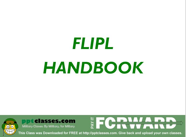 FLIPL Handbook