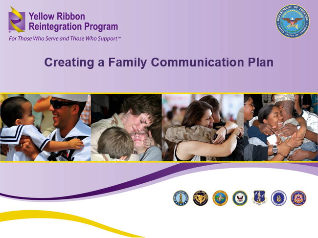 Family Communication Plan (Joint)