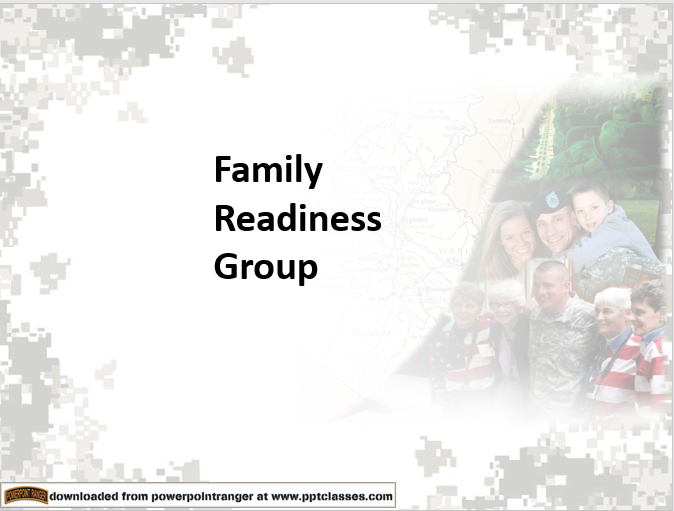 Family Readiness Groups (ARNG)