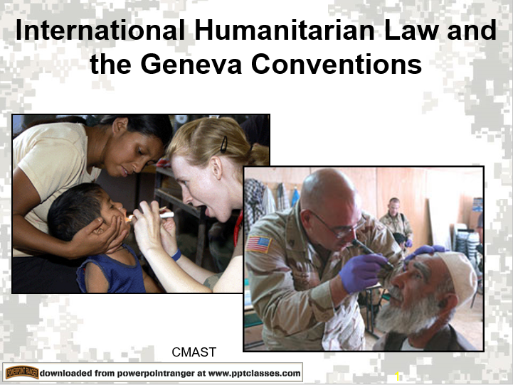 International Humanitarian Care, Combat Medic Advanced Skills Training (CMAST)