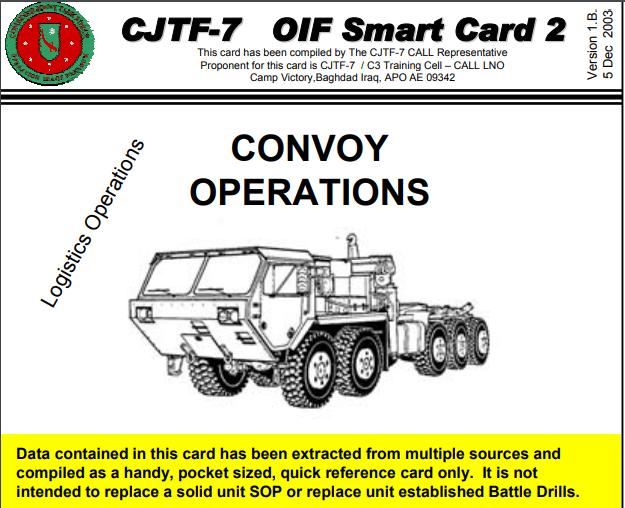 Logistics Convoy, Smart card