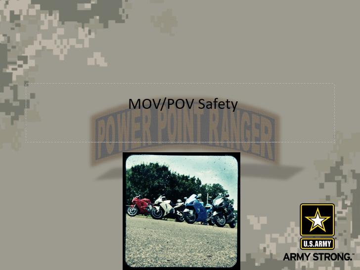 MOV-POV Safety Class