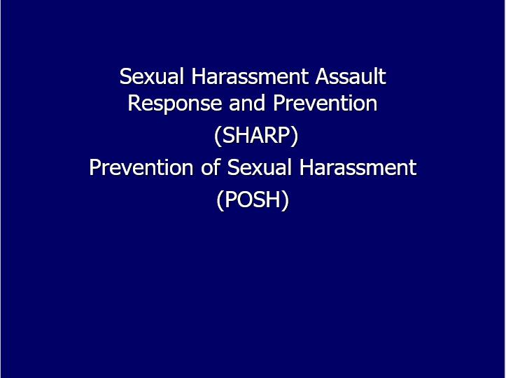 POSH SHARP