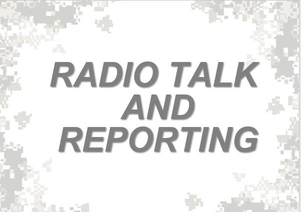 Radio Talk and Reporting