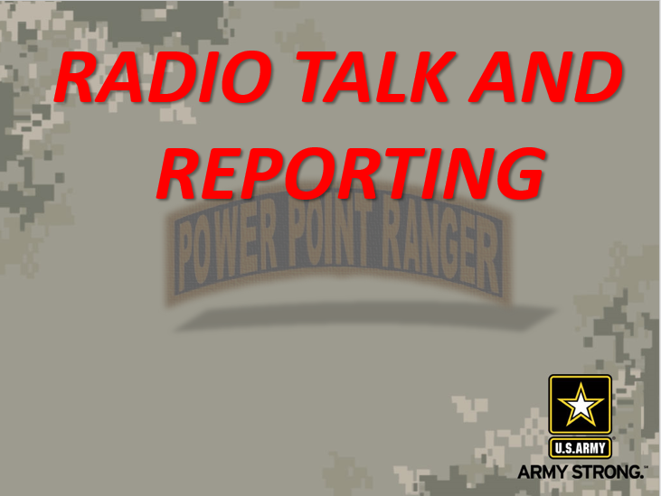 Radio Talk and Reports