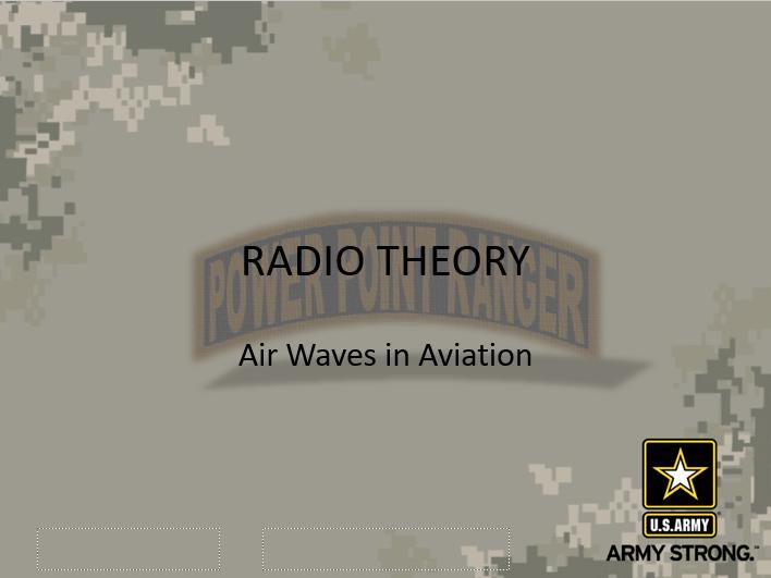 Radio Theory