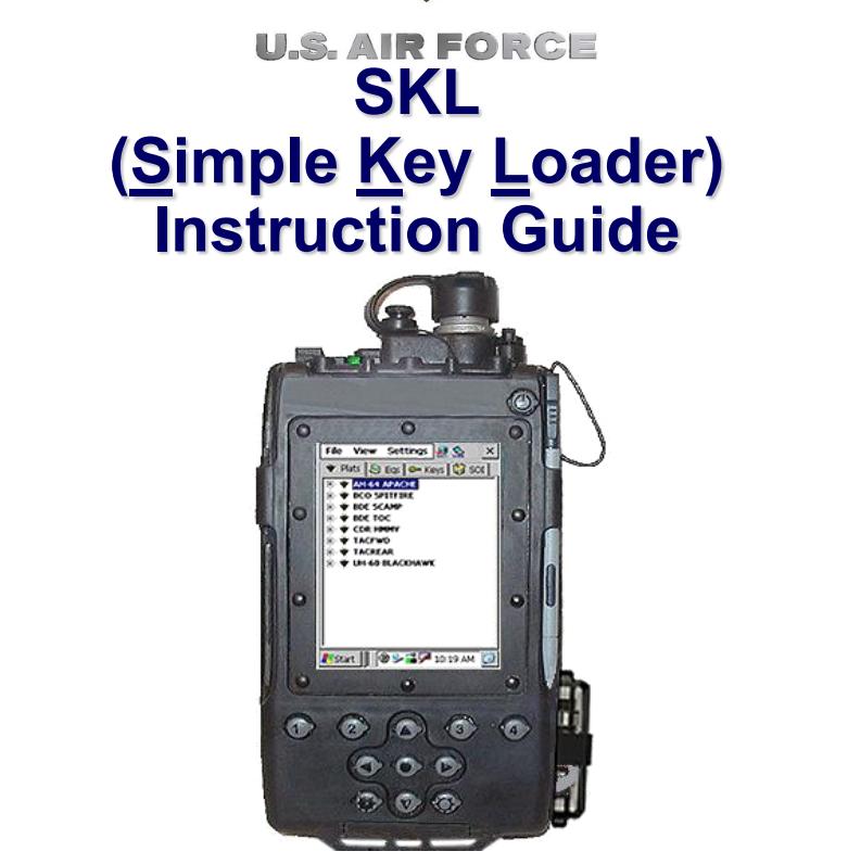 SKL Instructions Guide (USAF)
