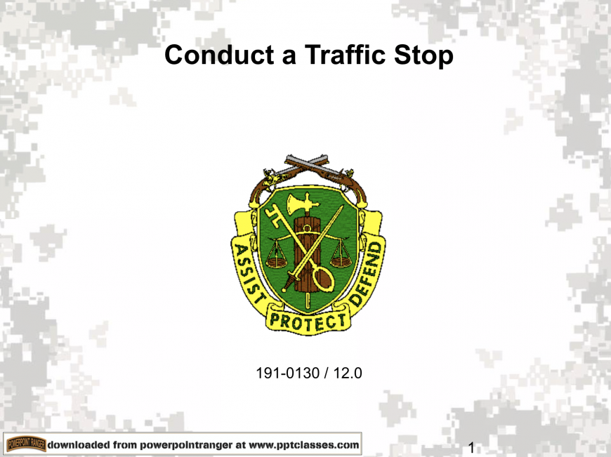 Military Police, Military Police, PowerPoint Ranger, Pre-made Military PPT Classes, PowerPoint Ranger, Pre-made Military PPT Classes