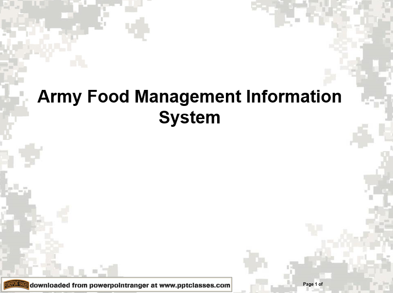 Mission Command Systems, Digital and Mission Command Systems & Websites, PowerPoint Ranger, Pre-made Military PPT Classes, PowerPoint Ranger, Pre-made Military PPT Classes
