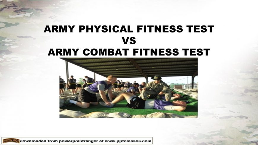 ACFT versuses the the APFT