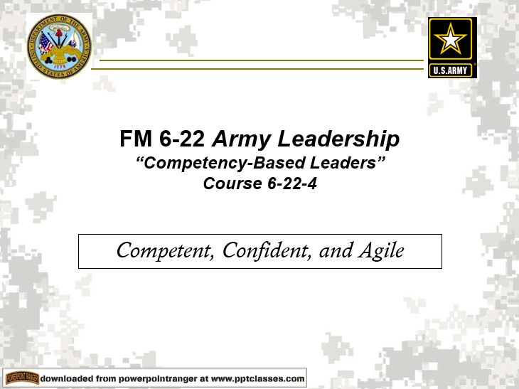 Army Leadership-Competency(FM 6-22)