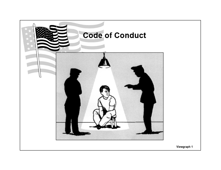 Code of Conduct & SERE