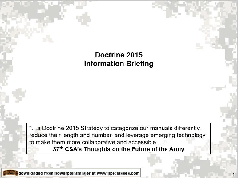 Doctrine 2015