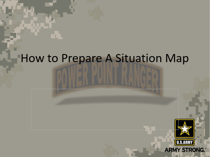 How to Prepare a Situation Map