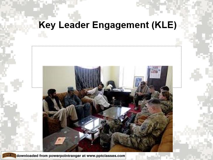 Key Leader Engagement