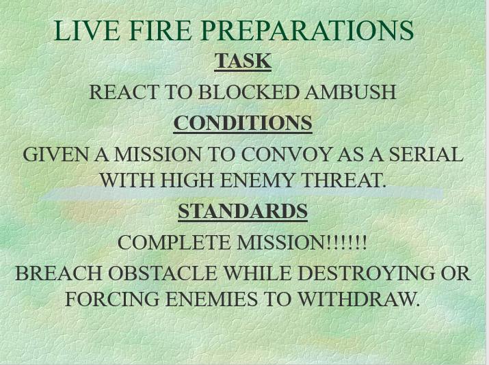 React Blocked ambush