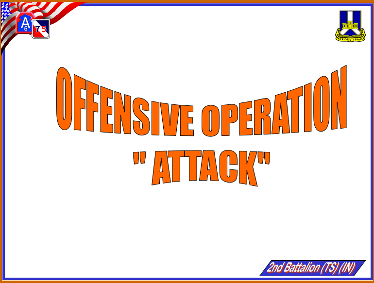 Squad Offensive Operations
