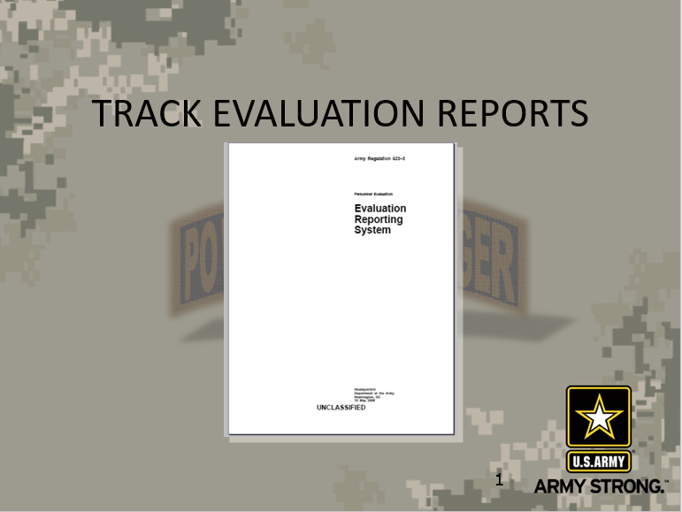 Track Evaluation Reports