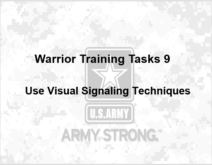 Army Warrior Training, Army Warrior Training (AWT) – Common Tasks, PowerPoint Ranger, Pre-made Military PPT Classes, PowerPoint Ranger, Pre-made Military PPT Classes